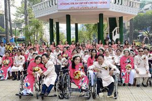 Lễ cưới tập thể 50 cặp thanh niên khuyết tật, hoàn cảnh khó khăn