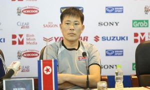HLV CHDCND Triều Tiên nói gì trước trận giao hữu với đội tuyển Việt Nam?