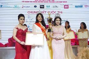 Cô giáo Ngô Thị Thành – Thanh Bella giải nhì hội thi 'Teacher Beauty International 2018'
