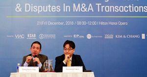 Hoạt động M&A tiềm ẩn nhiều rủi ro pháp lý