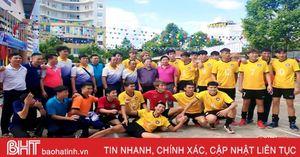 Bóng chuyền Hà Tĩnh giành quyền trụ hạng các đội mạnh quốc gia