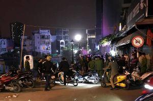 Hai nhóm thanh niên lao vào hỗn chiến tại quán Beer Club, 1 người bị thương