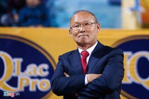 HLV Park Hang-seo được bầu chọn là 'Nhân vật châu Á của năm'