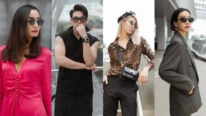 Dàn mẫu trẻ diện trang phục chất lừ đến tập show Thu Đông 2018 của NTK Đỗ Mạnh Cường