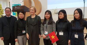 Đội tuyển Việt Nam giành hai huy chương Olympic tiếng Nga quốc tế