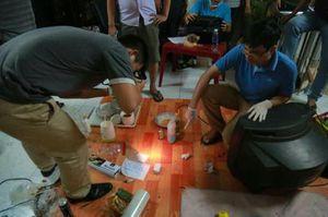 Công an khám xét nhà 'trùm' ma túy lớn nhất Bình Dương