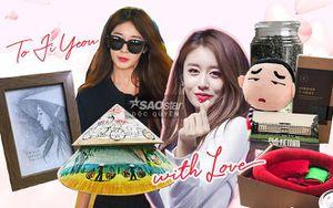 Độc quyền: Vài giờ trước khi gặp Jiyeon, soi ngay loạt quà tặng 'yêu không hết' từ V-Queen's gửi tới thần tượng