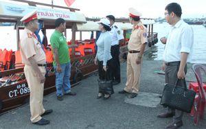 Cần Thơ: Siết chặt trật tự ATGT tại các bến tàu du lịch