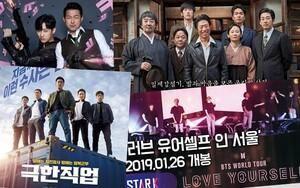 Mở màn năm 2019 bằng 5 tác phẩm điện ảnh Hàn ra rạp tháng 1 của Ryoo Seung Ryong, Jin Young, Lee Si Young và BTS