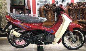 Xe máy Suzuki RGV đời cũ giá 1 tỷ đồng ở Sài Gòn