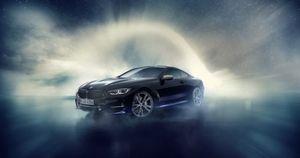 BMW 8 Series nội thất sao đêm, sử dụng thiên thạch dự báo 'gây bão'