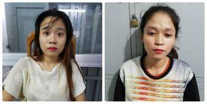 2 nữ quái móc trộm điện thoại bị trinh sát truy đuổi trên phố TP.HCM