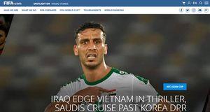 FIFA ví trận Việt Nam - Iraq như 'phim kinh dị'