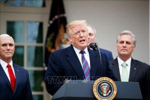 Tổng thống Mỹ và đảng Dân chủ đàm phán lần 3 về bức tường biên giới