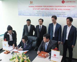 Thành viên Tập đoàn Lotte Hàn Quốc hợp tác đầu tư cùng Hưng Lộc Phát