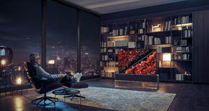 Trình làng mẫu TV cuộn tròn đầu tiên trên thế giới