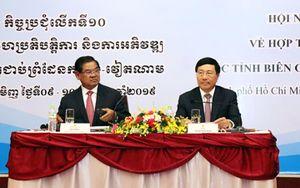 Hội nghị Hợp tác và Phát triển các tỉnh biên giới Việt Nam - Cam-pu-chia lần thứ 10