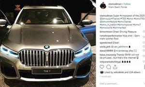 Lộ ảnh sedan hạng sang đầu bảng BMW 7 Series 2020