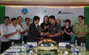 Tổ chức Động vật châu Á tài trợ 60.000 USD để bảo tồn voi Đắk Lắk