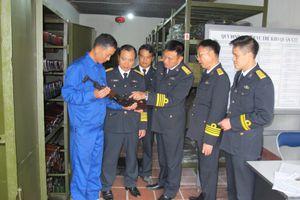 Nỗ lực làm chủ trang bị công binh hải quân
