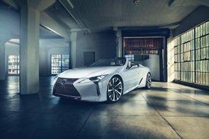 Lexus hé lộ mui trần hạng sang