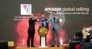 'Bắt tay' Amazon thúc đẩy xuất khẩu qua thương mại điện tử