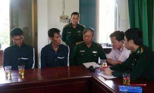 2 ngư dân philippines gặp nạn trên biển được ngư dân Viêt Nam cứu thoát