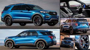 Ford Explorer 2020 bất ngờ có phiên bản hiệu năng cao