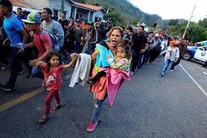 Hành trình gian khổ của đoàn người di cư Honduras đang đổ về biên giới với Mỹ
