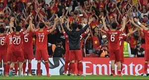 Đội tuyển Việt Nam vào vòng 1/8 nhờ ít thẻ vàng