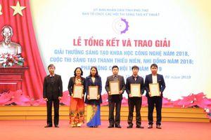 Bệnh viện đa khoa tỉnh Phú Thọ vinh dự đạt giải thưởng sáng tạo khoa học công nghệ năm 2018