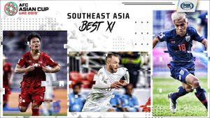Việt Nam lép vế trước Thái Lan ở đội hình Đông Nam Á tại Asian Cup