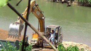Lâm Đồng: 'Cát tặc' lộng hành, sông Krông Nô kêu cứu