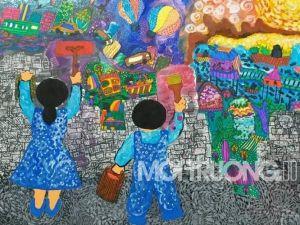 Gần 30 nghìn tác phẩm tham dự cuộc thi vẽ tranh 'Vì môi trường tương lai'