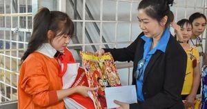 Nhiều hoạt động chăm lo Tết cho công nhân khó khăn