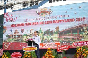 Khang Thông khai mạc 'Hội xuân văn hóa du lịch Happyland 2019' và mở cửa khu văn hóa Việt Nam