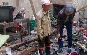 Hà Tĩnh: Nổ kinh hoàng nghi do chế pháo, 5 người thương vong