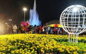 Khai mạc đường hoa Tết Kỷ Hợi 2019 tại Tiền Giang