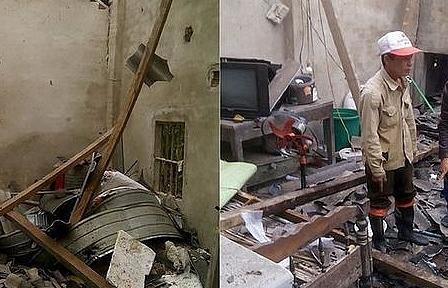 Ngôi nhà bất ngờ phát nổ, 5 người thương vong
