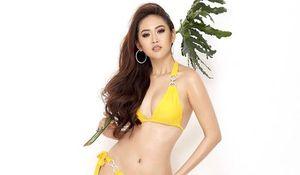 Trúc Ny khoe vẻ đẹp nóng bỏng sau ngôi vị Á hậu Miss All Nations 2019