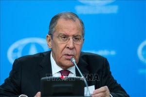 Ngoại trưởng Nga sẽ công du 3 nước Trung Á