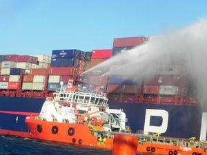Ninh Thuận: Khẩn trương cứu hộ tàu chở hàng nước ngoài gặp sự cố trên biển