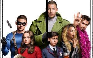 'The Umbrella Academy': Netflix ra mắt 'đàn con siêu nhân' giải cứu thế giới trong những chiếc dù
