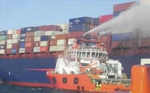 Cứu hộ, cứu nạn tàu container APL Vancouver