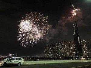 Đại tiệc pháo hoa khắp Châu Á đón năm mới Kỷ Hợi 2019