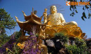 Đầu xuân chiêm ngưỡng tượng Phật vàng trứ danh Việt Nam
