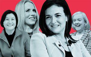11 nữ tướng giàu có nhất làng công nghệ