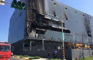 Cháy kho hàng tại Đài Loan, ba công nhân Việt tử vong