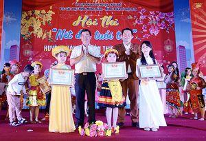 3 thí sinh đoạt giải nhất Hội thi 'Nét đẹp tuổi thơ' huyện Châu Đức