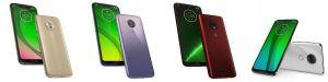 Motorola ra mắt bộ tứ smartphone Moto G7 (2019)